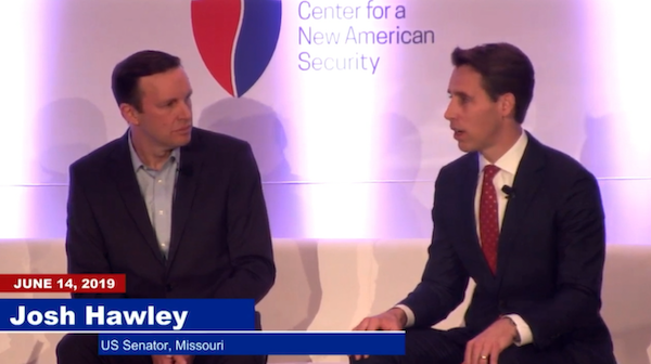 Sen. Hawley discusses the role Silicon Valley should play in winning America's technological arms race against China